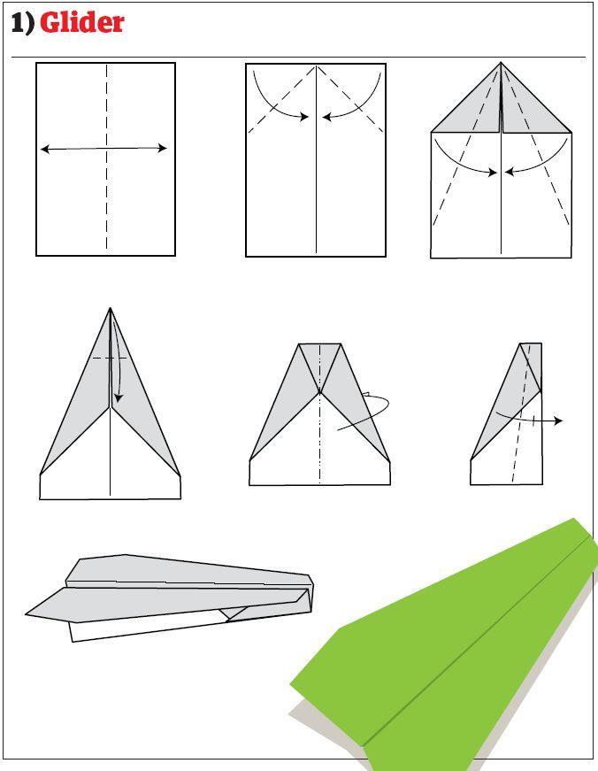 Как сделать самолет истребитель из бумаги схемы