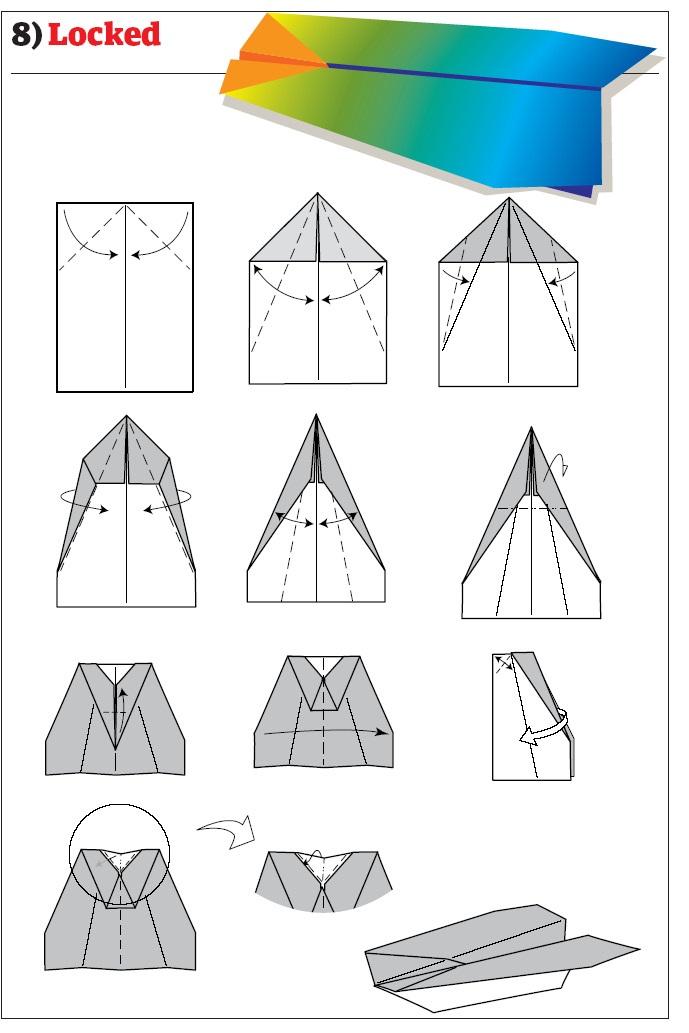Как сделать из бумаги самолетики которые летают
